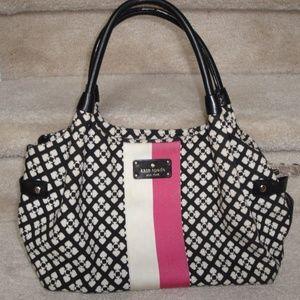Classic Kate Spade Zip Top Stevie Bag